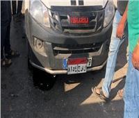 إصابة ٥ أشخاص في انقلاب سيارة ملاكي بالطريق الزراعي بالبحيرة
