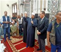 وزير الأوقاف يعلن من الشرقية خطة إعادة أعمار المساجد