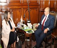 «أبوستيت» يستقبل رئيس العلاقات الدولية بمبادرة تنمية الزراعة في البحرين