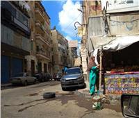 إزالة تعدٍ بمحيط مسجد تربانة الأثري في الإسكندرية