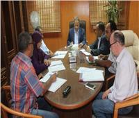رئيس جامعة الأقصر يناقش استعدادات العام الجامعي الجديد