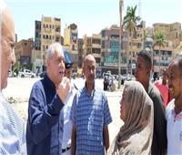 محافظ الأقصر يتفقد أعمال تطوير ميدان سيدي أبو الحجاج