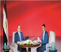 اسأل الرئيس| السيسي: موازنة التعليم في مصر 130 مليار جنيه و80% للأجور