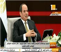 اسأل الرئيس| السيسى: ثبات الدولة المصرية السبيل الحقيقى لمواجهة التحديات
