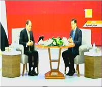 اسأل الرئيس| السيسي: نستطيع التصدي للشائعات بتكاتف الشعب ومؤسساته