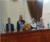 انطلاق فعاليات مؤتمر «متعة التعليم باللغة الإنجليزية» بدراسات الإسكندرية بنات الأزهر