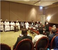 صور| وزير الأوقاف بمؤتمر «الشئون الإسلامية»: الحياد مع أعداء الوطن «خيانة»