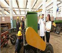 فيديو| مصنع 999 الحربي: نصدر الآلات الزراعية والمعدات للخارج