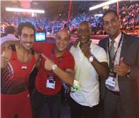 علي أبو القاسم يحصد ذهبية كأس العالم للجمباز بفرنسا