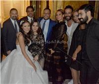 صور| نجوم الفن يحتفلون بزفاف علياء الحسيني