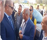 وزير النقل ومحافظ الغربية يتفقدان محطة طنطا