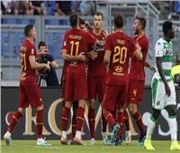 شاهد| روما يحقق فوزه الأول بالدوري الإيطالي