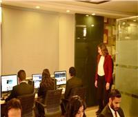وزيرة الهجرة تفتتح الاستوديو الخاص بالتواصل مع المصريين بالخارج
