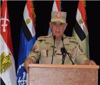 رئيس الأركان يشهد المرحلة الرئيسية للمشروع التكتيكي «طارق 50»