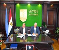 اتفاقية بين جامعة الإسكندرية والبورصة المصرية لتأهيل الطلاب