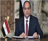 السيسي يشهد حلف اليمين للنائب العام الجديد ورئيس مجلس الدولة