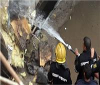 الحماية المدنية بالإسكندرية تخمد حريقا بمصنع أحذية في محطة الرمل