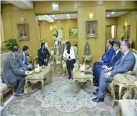محافظ دمياط تستقبل نائب سفير دولة الهند بالقاهرة لبحث سبل التعاون