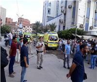 حريق محدود بمركز أبحاث الكبد بكفر الشيخ