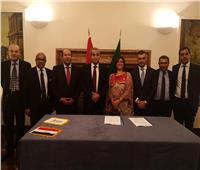 مصر وإيطاليا توقعان خطاب تفاهم مشترك في مجالات التجارة الداخلية