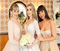 شاهد| هنا الزاهد تنشر صورا جديدة من زفافها: «حياتي في صورة»