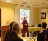 الكنيسة الأسقفية في استقبال لجنة الكهنة والقسوس فى مجلس كنائس مصر