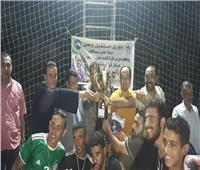 ختام بطولة دورى مستقبل وطن فى كرة القدم بمركزى العسيرات وساقلتة بسوهاج