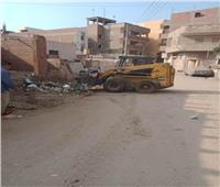 المنوفية: حملات نظافة ورفع إشغالات بمختلف مراكز المحافظة