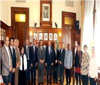 مؤسسة بنك مصر توقع 4 بروتوكولات تعاون لدعم التنمية الشاملة بالقرى