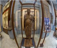 حكاية.. «شيخ البلد» أجمل وأدق التماثيل الخشبية