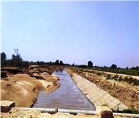 صور| التفاصيل الكاملة لانهيار الجسور الترابية لأحواض الصرف بنصر النوبة