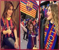 يارا تدعم برشلونة أمام دورتموند