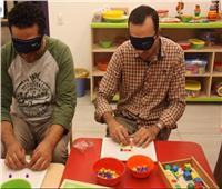 «طفل معاق بصريًا في فصل دراسي».. دورة تدريبية لتأهيل ذوي الاحتياجات الخاصة