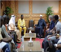 وكيل الأزهر يلتقي رئيس المجلس الأعلى للشؤون الإسلامية بسيراليون