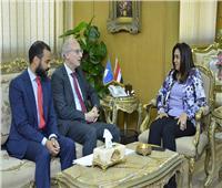 محافظ دمياط تبحث مع سفير الأرجنتين توطيد العلاقات التجارية