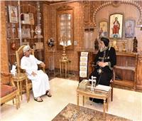 سفير سلطنة عُمان خلال لقائه البابا تواضروس: «لك قيمة دينية كبرى على مستوى العالم»