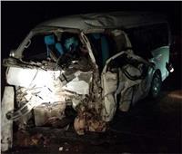 إصابة 3 من العاملين بصحة الغربية في حادث انقلاب سيارة بإيتاي البارود