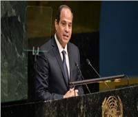 الرئيس يلقى كلمة مصر أمام الجمعية العامة للأمم المتحدة الثلاثاء المقبل