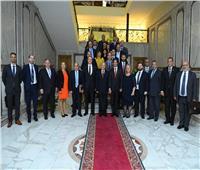 «العصار» يبحث مع وفد مجري دعم الصادرات وتعزيز التعاون المشترك