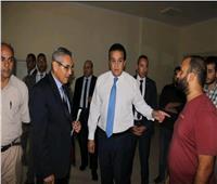 صور| «عبدالغفار» يتفقد جامعة القاهرة الجديدة التكنولوجية بالتجمع الخامس