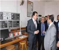 وزير التعليم العالى يتفقد عددًا من المنشآت الجامعية ببورسعيد