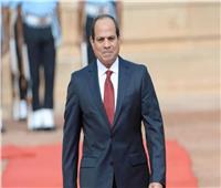 الرئيس السيسي يتقدم الجنازة للعسكرية للفريق العرابي رئيس أركان حرب القوات المسلحة الأسبق
