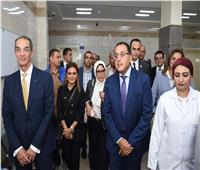 رئيس الوزراء يتفقد مستشفى «السلام بورسعيد»