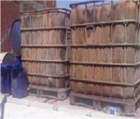 ضبط مخزن مواد بترولية مدعمة قبل بيعها بالسوق السوداء في القليوبية