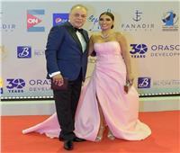 أشرف زكي وروجينا يتألقان في مهرجان الجونة السينمائي