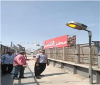 صور| بدء أعمال صيانة بطريق «مصر - إسكندرية» الزراعي