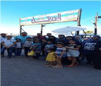 «القومي لأسر الشهداء» ينظم رحلة ترفيهية بشاطئ البوريفاج بالإسكندرية