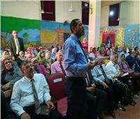 قوافل دعم العملية التعليمية بالقاهرة تتوجه لإدارات الجنوب