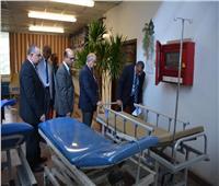 جامعة أسيوط تسابق الزمن لإنشاء مستشفى 2020 الجامعي الجديد