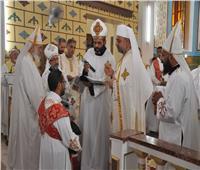 الأنبا عمانوئيل يترأس قداس السيامة الإنجيلية للشماس أمجد عزت